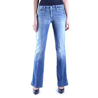 7 for all mankind ladies MCBI004013O Blau cotton of jeans