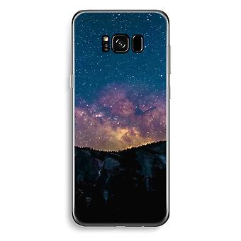 Samsung Galaxy S8 Transparent Case (Soft) - Travel to space
