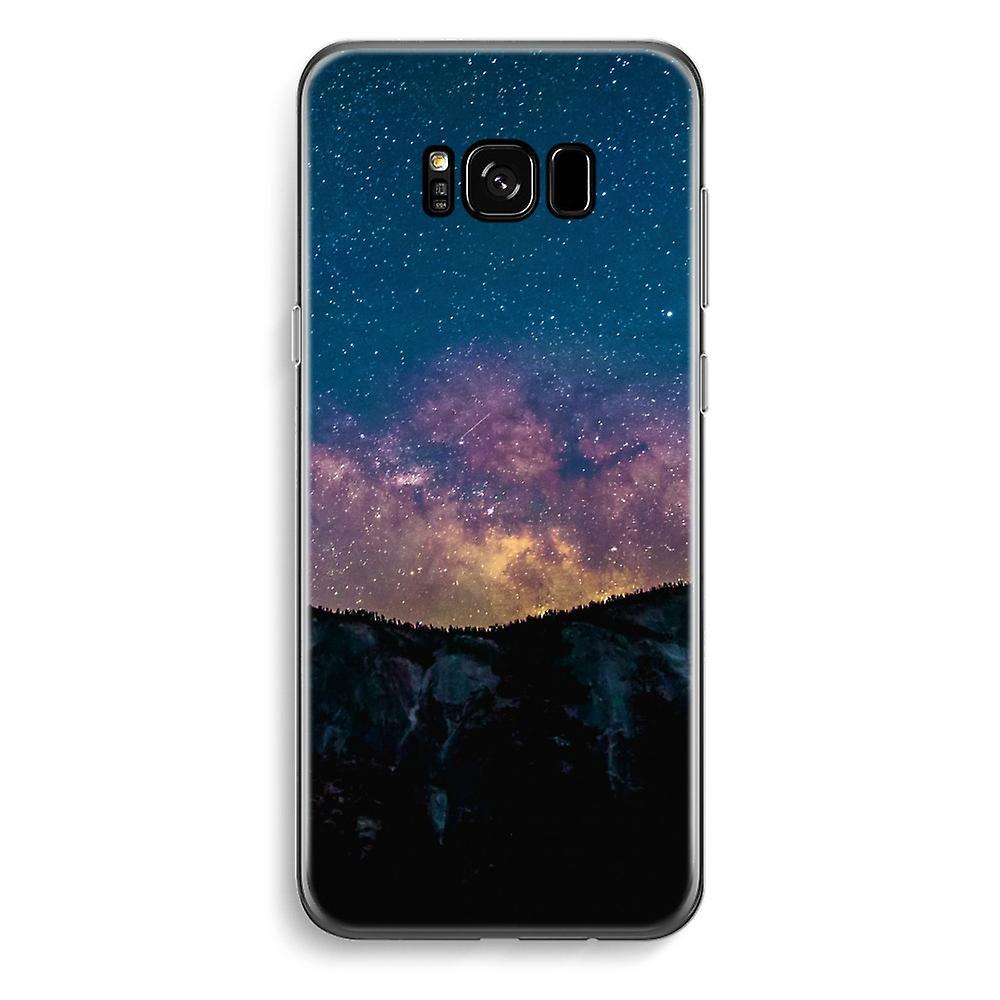 Samsung Galaxy S8 transparentes Gehäuse - Reisen in Raum