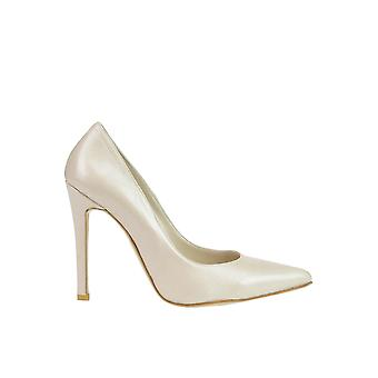 Andrea Pinto women's MCGLCAT03076E beige leather pumps