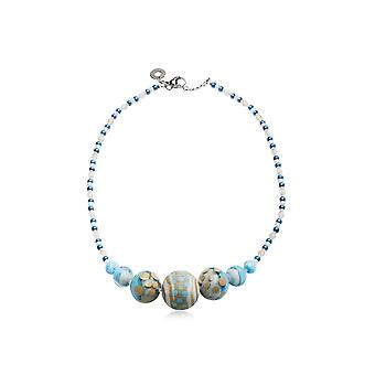 Antica Murrina ladies CO963A07 Blau metal Hall chain