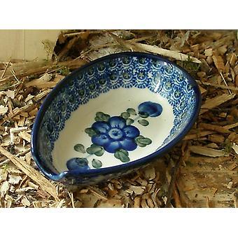 Spoon, 12.5 x 8.5 cm, tradition 9, Upper Lusatia ceramic - BSN 4861