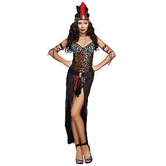 Voodoo Priestess The Witch Doctor Story Book Week Women Costume