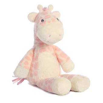 "Aurora Baby Toys Gigi Giraffe 14"" Pink"