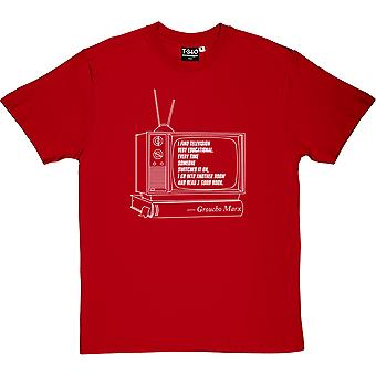 Groucho Marx Television Quote Men's T-Shirt