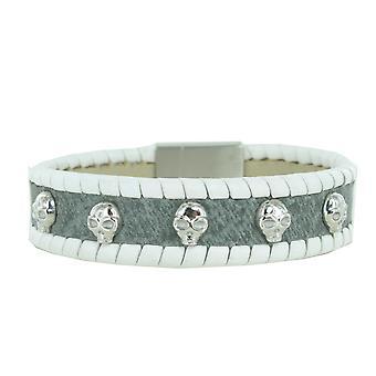 Police unisex bracelet spirit stainless steel leather PJ. 24410BLGR/01 L