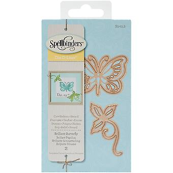 Spellbinders Shapeabilities Die D-Lites-Brilliant Butterfly