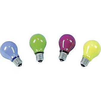 Barthelme Light bulb 230 V E27 40 W Yellow Pear shape Content 1 pc(s)