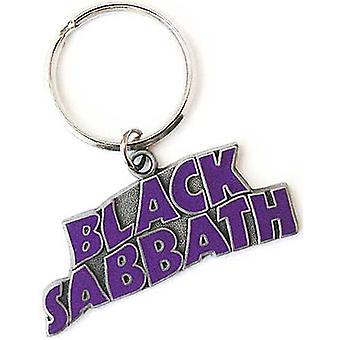 Brelok metalowy faliste Logo Black Sabbath