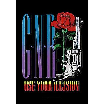 Guns N' Roses Use Your Illusion Large Fabric Poster / Flag 1100Mm X 750Mm