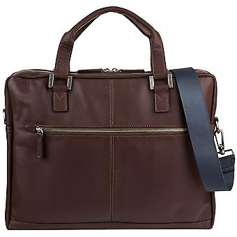 Bugatti Manhattan leather business bag Briefcase 491111