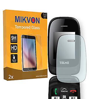 Emporia TELME X210 Screen Protector - Mikvon flexible Tempered Glass 9H (Retail Package with accessories)