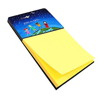 Carolines Treasures  VHA3039SN Peace on Earth Sticky Note Holder