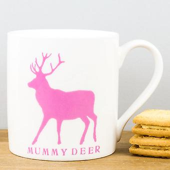 RawXclusive Mummy Deer Pink Mug