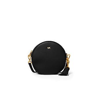 MICHAEL KORS BLACK CANTEEN MEDIUM CROSSBODY BAG