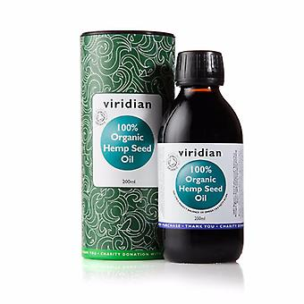Viridian Hemp Oil (Organic), 200ml