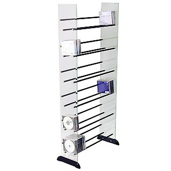 Avante - Glass 336 Cd / 234 Dvd Blu-ray / Media Storage Shelves