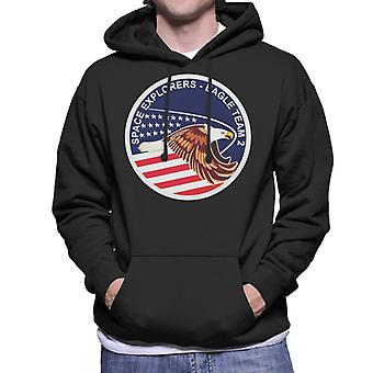 NASA STS 51I Space Shuttle Discovery Mission Patch Men's Hooded Sweatshirt