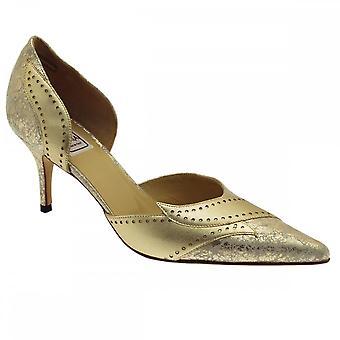 Renata High Heel Side Out Detail Court Shoe