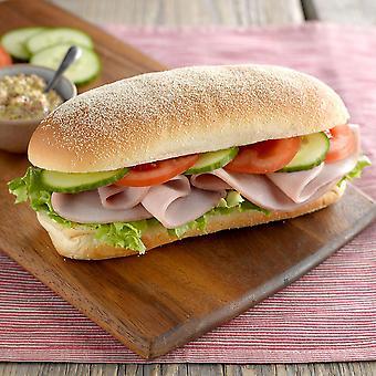 Kara eingefroren klassische Deli Brot Brötchen 17cm