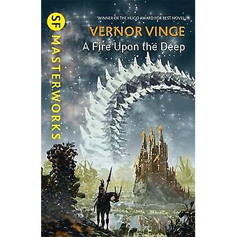 A Fire Upon the Deep by Vernor Vinge - 9781473211957 Book