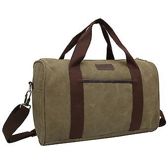 Weekender bag or Holdall in linen, 39x24x19 cm
