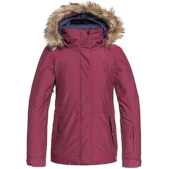 Roxy Beet Red Tribe Girls Snowboarding Jacket