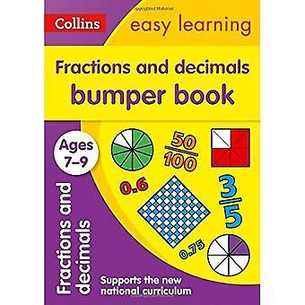 Fractions and Decimals Bumper Book: Ages 7-9
