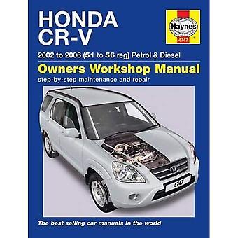 Manuel d'atelier Honda CR-V propriétaires
