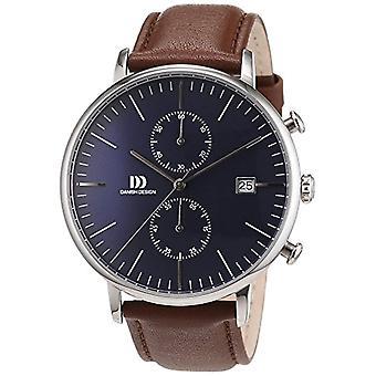 Dänisches Design-Herren-Leder-Quarz-Armbanduhr 3314506