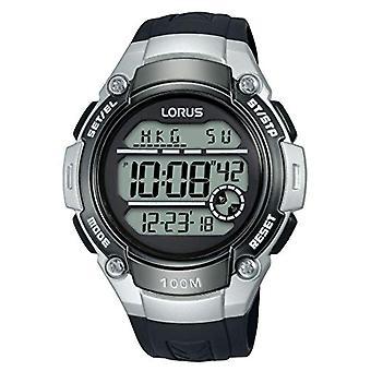 Lorus Quartz digital clock Man Silicone wrist watch R2331MX9