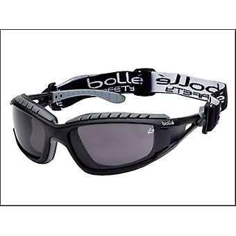 Bollé Safety Tracker Safety Glasses Vented Smoke