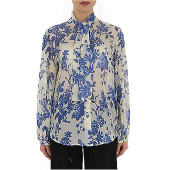 Selected Homme Light Blue/white Polyester Blouse