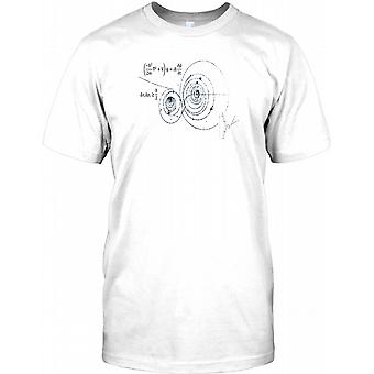 Physics and Chemistry Equations - Cool Science Mens T Shirt