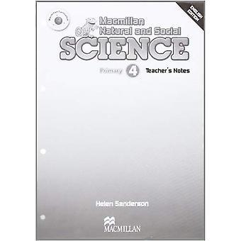 Notas de professor MacMillan Natural & ciências sociais nível 4 (Ciências naturais e sociais Macmillan)