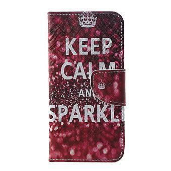 Samsung Galaxy S10e cartera bolsa cotización mantenga calma y brillo
