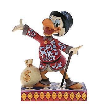 Disney-Traditionen scrooge ' Treasure-Seeking Tycoon ' Figurine