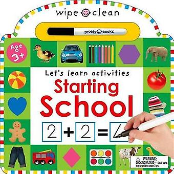 Wipe Clean - Starting School by Roger Priddy - 9780312517908 Book