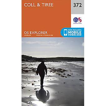 Coll and Tiree (September 2015 ed) by Ordnance Survey - 9780319246191