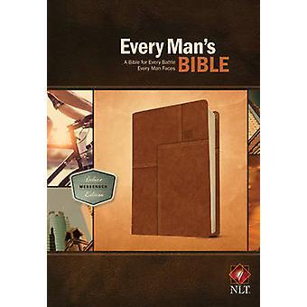 Every Man's Bible-NLT Deluxe Messenger - 9781414381084 Book