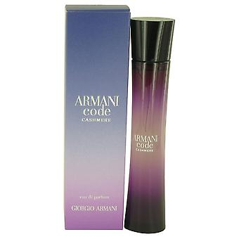 Armani Code Cashmere by Giorgio Armani Eau De Parfum Spray 2.5 oz / 75 ml (Women)