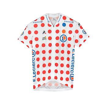 Tour de France Le Coq Sportif Kids Replica King of the Mountains Jersey  | Polka | 2019 | 12