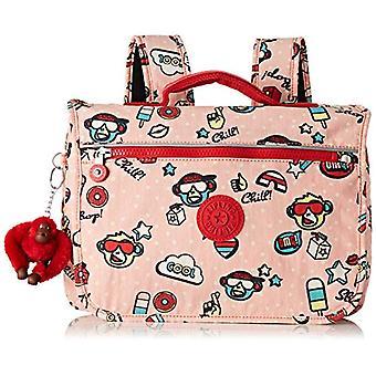 Kipling NEW SCHOOL Children's backpack - 32 cm - 6 liters - Multicolor (Monkey Play)