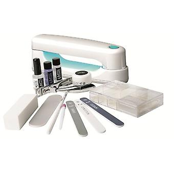 Rio Manicure Kit Nail Extensions And Compact