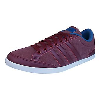 adidas Neo Caflaire Mens Trainers / Shoes - Burgundy