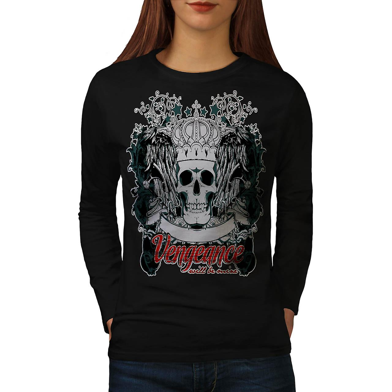 Vengeance Revenge Eye Thrones Women Black Long Sleeve T-shirt | Wellcoda