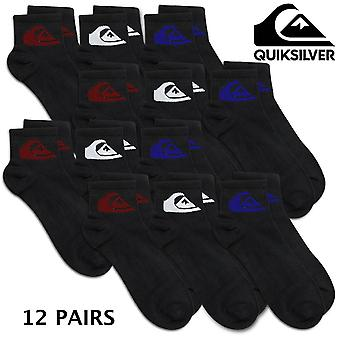 4 x Calcetines Quiksilver 3-Pack
