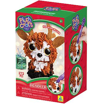 Plush Craft Fabric Fun Mini Kit-Reindeer 75248
