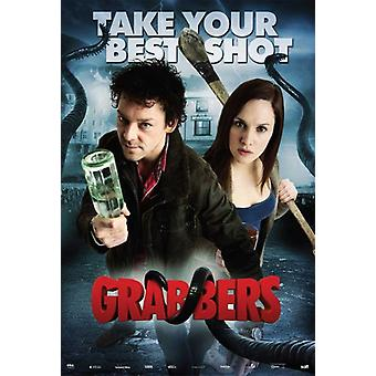 Grabbers Movie Poster (11 x 17)