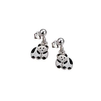 Scout children earrings silver Panda girls 262103100